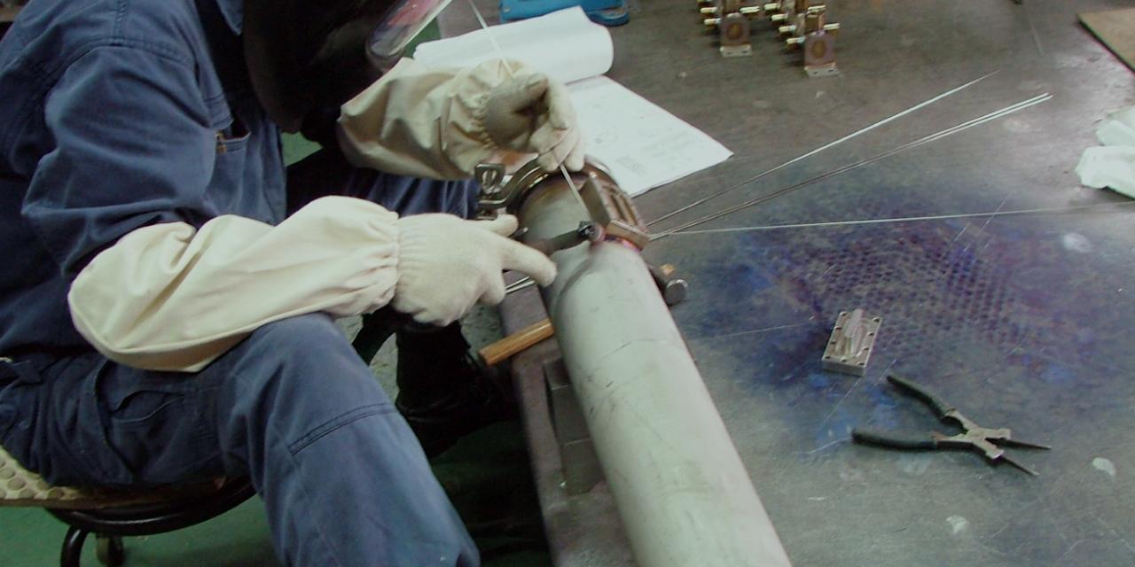 洗練された技術を生かし、短納期、高品質の製品を提供する溶接のプロフェッショナル